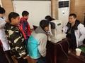 天津市东丽区开展儿童青少年视力调查工作