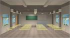 立达信 教室灯智能场景模拟图