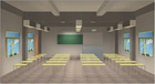 立達信 教室燈智能場景模擬圖