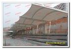 小學操場看臺膜結構雨棚