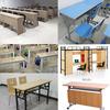 博仁办公家具厂低价出售学生培训课桌椅配套各种校园教学家具定制办公室办公桌椅老师办公桌