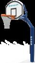 舒华品牌  场地设施  JLG-101E地埋式标准篮球架