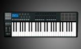worlde沃尔特 49键MIDI键盘半配重