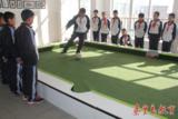 潘卡足球校园版脚踢式台球教学设备校园足球基础建设室内小型足球场运动器材一手厂家