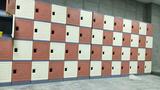 塑料學生書包柜,教室走廊專用