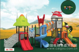 青島雙橋教育幼兒園室外兒童組合滑梯廠家SQ-ZHHT (雙橋)