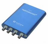 100M高精度虚拟示波器8~16位频谱分析 信号发生器