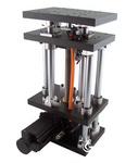 ELPB精密电动升降台 Z轴线性位移滑台 大行程重载电控微调台