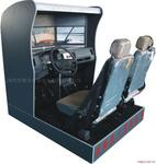 三屏幕汽车驾驶模拟器