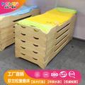 幼儿园床儿童午休实木叠叠床
