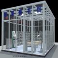 龙腾智慧图书馆玻璃房利用Rfid技术实现自动化24小时无人值守的图书馆