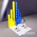 腳踏發電 互動式科普館展品 科技館少年宮設備 科學探究實驗室 壁掛式科技館展品智慧墻