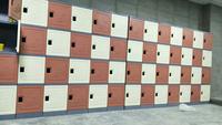 塑料学生书包柜,教室走廊专用
