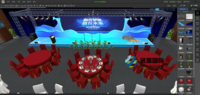 讯狐国际 VR节事策划仿真实践教学系统 模拟教学 助力会展教学实践实训