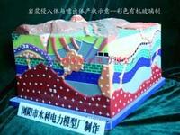 岩层产状模型