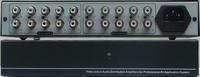 立体声音频2路1分4(2进8出音频分配器)