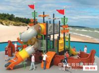 青岛双桥教育幼儿园室外儿童组合滑梯厂家