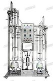 高沸点精密玻璃精馏实验装置