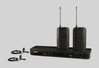 SHURE舒尔BLX188/CVL双通道领夹式无线话筒