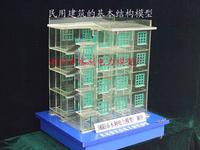 房屋建筑结构模型