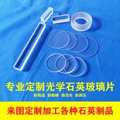 石英光学玻璃片 JGS2 直径40 50mm圆片方片厚度1 2 3 4 5 超薄0.1 0.2高透明紫外玻璃高温视镜