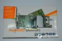 LSI MegaRAID 9271-8I 1G缓存 8口SAS 6GB SAS 阵列卡