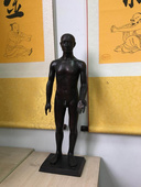 60cm仿现代针灸铜人模型,全铜制造针灸铜人模型-上海中弘公司