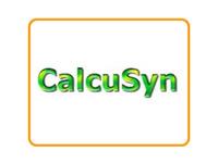 CalcuSyn V2.0 丨 混合药物分析软件
