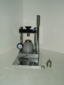 手动液压式压样机