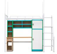 宿舍家具别样氛围个性安徽学生公寓组合床定制为你营造