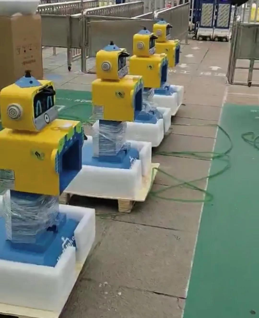 晨检机器人使用案例-沃柯雷克晨检机器人使用案例