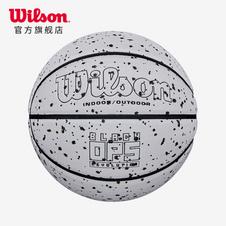 威尔胜(Wilson) BLACK OPS COMP BSKT WHITE SZ7 CN PU材质泼墨设计7号成人室内外通用篮球WTB6801IB07CN