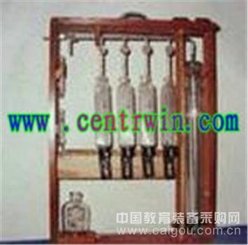 奥式气体分析仪/四管气体分析仪 型号:TCY-1902
