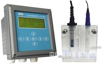 中文在线余氯分析仪/在线余氯、 HOCL、PH、温度检测仪