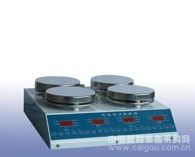 多工位磁力搅拌器 磁力搅拌器 多点恒温器