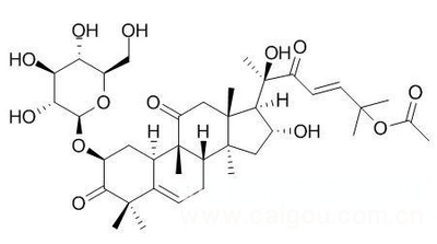 葫芦素B 2-O-Beta-D-葡萄糖苷,65247-27-0,Cucurbitacin B 2-O-beta-D-glucoside,中药标准品,对照品
