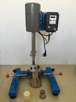 供应实验室数显高速变频分散机(九州空间生产)