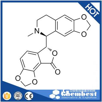 现货 d-Bicuculline/右旋比扣扣灵碱 GABAA receptor antagonist >99.5%(Chembest)