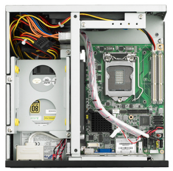 Advantech研华科技 IPC-3012小型工控机箱,支持半长卡以及I3/I5/I7处理器