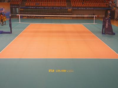 浩康排球地板助力湖南省第十一届大运会