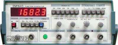 功率函数信号源 EM1643