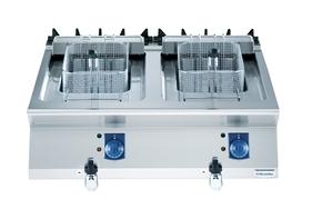座地式电力双缸炸炉QFRE831