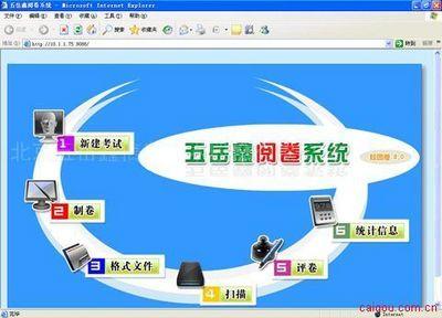 五岳鑫网上阅卷系统解决方案