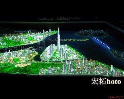 上海宏拓电子沙盘楼盘电子沙盘演示