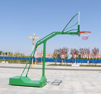 HKLJ-1009A經濟型凹箱式籃球架
