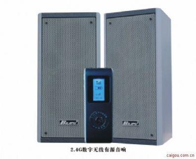 2.4G数字无线有源音箱