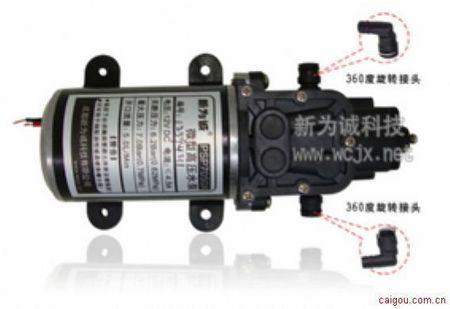 微型高压水泵-带过压,泄压双保护!