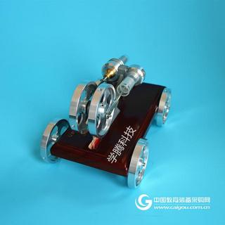 学腾绿色环保发动机模型玩具小车