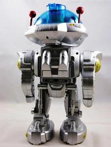 智能机器人实物教学模型