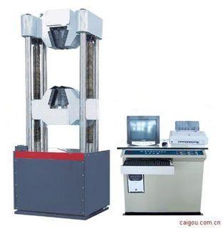 WEW-300微机电液伺服钢绞线拉力试验机